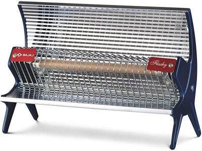 Bajaj j Flashy 1000 Watts Radiant Room Heater (Steel) Halogen Room Heater