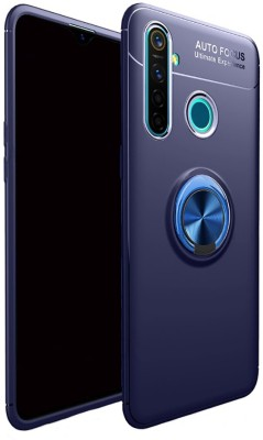 Vikeko Back Cover for Realme Narzo 10, Realme 5, Realme 5i, Realme 5s(Blue, Shock Proof)