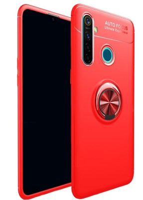 Vikeko Back Cover for Realme Narzo 10, Realme 5, Realme 5i, Realme 5s(Red, Shock Proof)