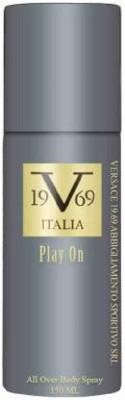 v 19.69 italia PLAY ON Deodorant Spray  -  For Men & Women(150 ml)