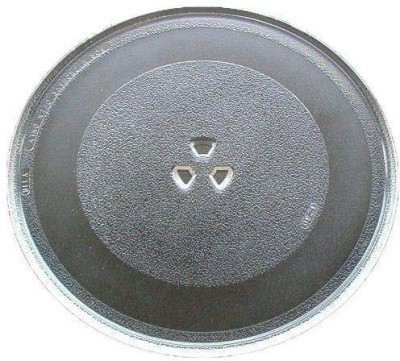 Myra 9.6 Inch Microwave Oven Replacement Turntable/Rotating/Baking Glass Tray/Glass Plate Fiber Glass Microwave Turntable Plate Fiber Glass Microwave Turntable Plate