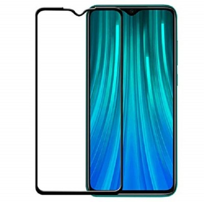Fovtyline Edge To Edge Tempered Glass for Mi Redmi Note 8 Pro(Pack of 1)