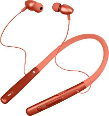 Zebronics ZEB-SOUL Bluetooth Headset(Orange, Wireless in the ear)