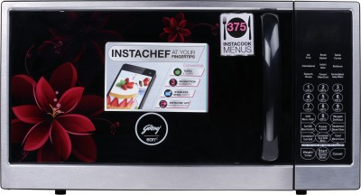 Godrej 30 L Convection & Grill Microwave Oven  (GME 730 CR1 PZ, Wine Lily)