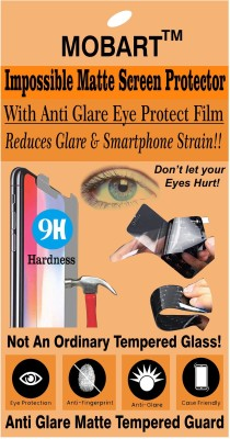 MOBART Impossible Screen Guard for LAVA IRIS X8(Pack of 1)