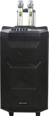Jack Martin PT 1210 PRO 80 W Bluetooth Tower Speaker(Black, 2.0 Channel)