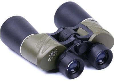 pullox Day Night Comet Horse Racing Binocular Bird WACHING 7x50mm HD Binoculars Sports Camping Binoculars(50 mm , Black& Green)