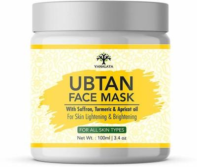 Vanalaya Ubtan face pack, face mask for detan fairness skin brightening & glowing skin 100ml(100 ml)