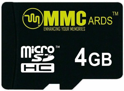MMC Ultra U1 4 GB MicroSD Card Class 10 90 MB/s Memory Card