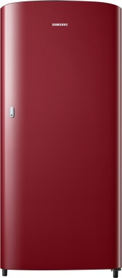 Samsung 192 L Direct Cool Single Door 1 Star  2020  Refrigerator   Scarlet Red, RR19T21CARH/NL