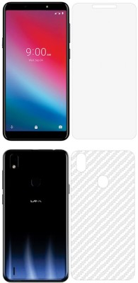 Treecase Front and Back Screen Guard for Lava Z52 Pro Front And Back screen guard / Lava Z52 Pro(Pack of 2)