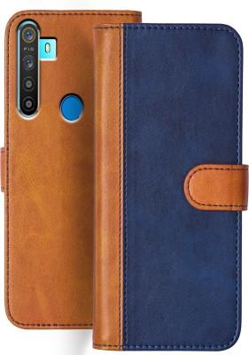 Knotyy Flip Cover for Realme 5, Realme 5s, Realme 5i(Multicolor)