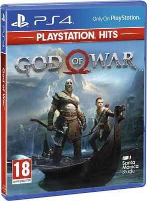 GOD OF WAR (PLAYSTATION HITS)(PHYSICAL DISK, for PS4)