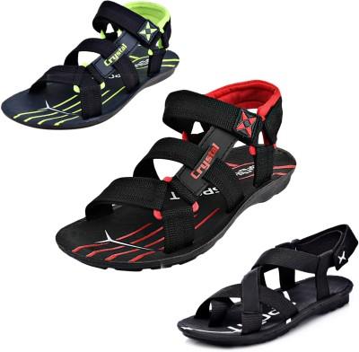 Calcados Men Green Sandals