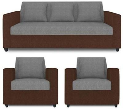 Modern Sofa Collection Fabric 3 + 1 + 1 Grey Sofa Set