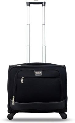 Timus Atlanta Cabin Luggage   17 inch  Black  Overnighter laptop bag Cabin Luggage   17 inch Timus Suitcases