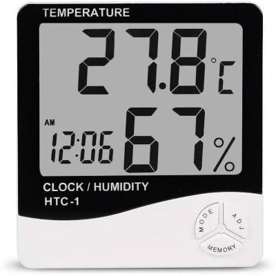 HTC Instruments Digital White Clock
