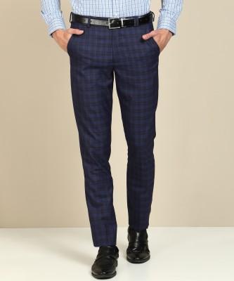 John Players Skinny Fit Men Blue Trousers