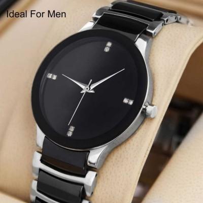 QUEBEC Men And Boys Luxury Designer Attractive Silver Analog Watch  - For Men