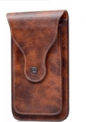 HITFIT Pouch for Nokia C3(Brown, Dual Protection)