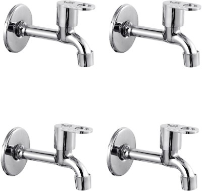 Prestige MAX Long Body-Pack Of 4 Bib Tap Faucet  (Wall Mount Installation Type)