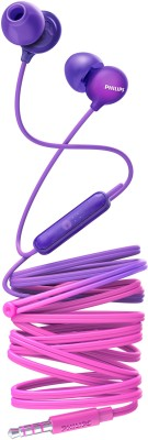 Philips SHE2405PP/00 Wired Headset(Purple, Wired in the ear)
