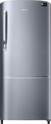 SAMSUNG 192 L Direct Cool Single Door 3 Star Refrigerator Elegant Inox, RR20T172YS8/HL SAMSUNG Refrigerators