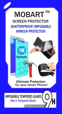 MOBART Impossible Screen Guard for INTEX AQUA AMAZE(Pack of 1)