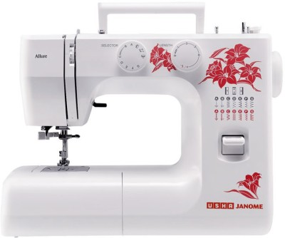 Usha Allure DLX Electric Sewing Machine( Built-in Stitches 21)