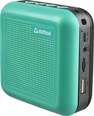 Stuffcool THEO-GRN 5 W Bluetooth Speaker(Green, Mono Channel)