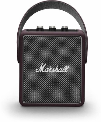 Marshall Stockwell II 20 W Bluetooth Speaker(Burgundy, Mono Channel)