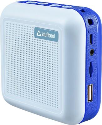 Stuffcool THEO-BLU 5 W Bluetooth Speaker(Blue, Mono Channel)