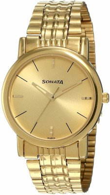 Sonata NF7987YM06 Analog Watch  - For Men