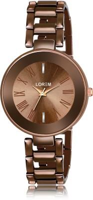 LOREM LK-0284 New Designer Unique Analog Watch  - For Women