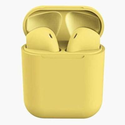 CHG 5.0 inPods 12 Earbuds +Storage Case D96 Bluetooth Headset(Yellow, True Wireless)