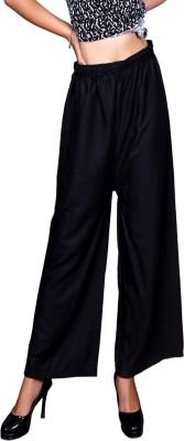 Pinkcity Style Regular Fit Women Black Trousers