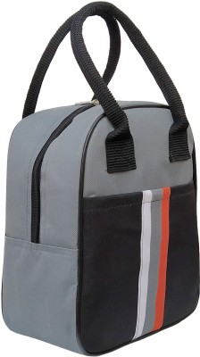 Aafeen Office Women and Men Waterproof Lunch Bag(Grey, 5 L)