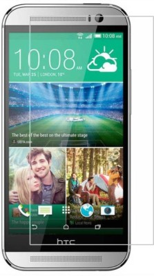 Nktronics Tempered Glass Guard for Htc One M8(Pack of 2)
