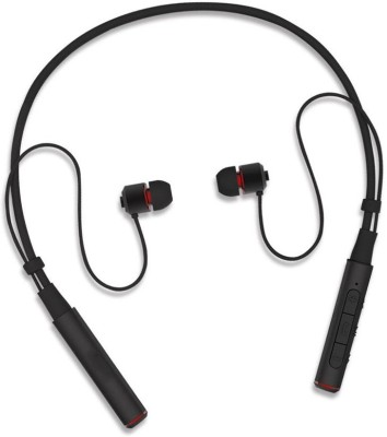WEBSTER Stereo High bass Sound Neckband headphone for op.po Vi_vo Redm.i Bluetooth Headset(Black, True Wireless)