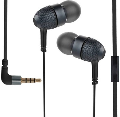 KLUZIE Premium In-ear Extra Bass Opp__o F11 pro,A3s,F9 Pro,K1 Earphone Wired Headset(Black, Wired in the ear)