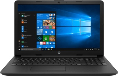 HP 15 Athlon Dual Core    4  GB/1 TB HDD/Windows 10 Home  15 db1066AU Laptop   15.6 inch, Jet Black, 2.04 kg, With MS Office  HP Laptops