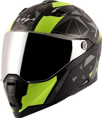 VEGA Storm Atomic Motorbike Helmet(Multicolor)