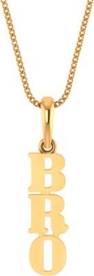 P.N.Gadgil Jewellers BRO 22kt Yellow Gold Pendant