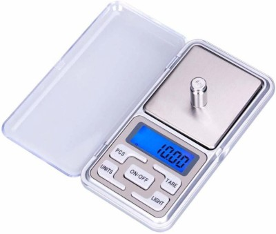 Gold Bourne Pocket Digital Scale Jewellery Gold Weighing Mini LCD Electronic 0.1g Scale Weighing Scale Weighing Scale(Silver)