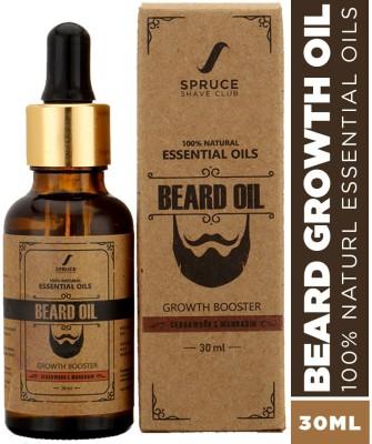 Spruce Shave Club Beard Oil For Beard Growth | 100% Natural Hair Oil(30 ml)