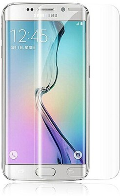 UNQMobi Edge To Edge Tempered Glass for Samsung S6 Edge Full 3D Curved Edge Shield Liquid Dispersion Tech with UV Light Kit Screen Protector(Pack of 1)