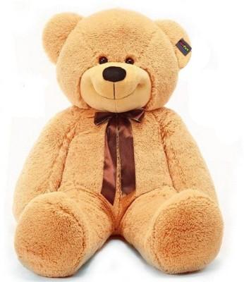 Click4Good 5 Feet Premium long Stuffed Spongy Hugable Cute Teddy Bear   60 inch Brown