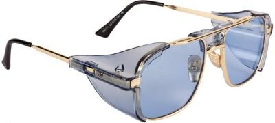 ROZZETTA CRAFT Retro Square Sunglasses(For Men & Women, Blue)