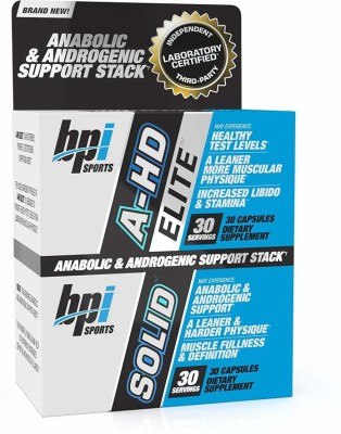 BPI Sports Anabolic & Androgenic Support Stack(60 No)