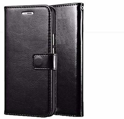 Lejaao Back Cover for Redmi 3s Prime Leather Flip Case Cover for Xiaomi Redmi 3s Prime - Leather Black(Black, Shock Proof)